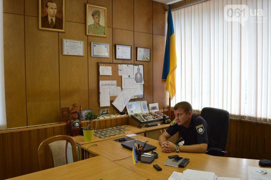 Роман Пилипенко в своем запорожском кабинете.