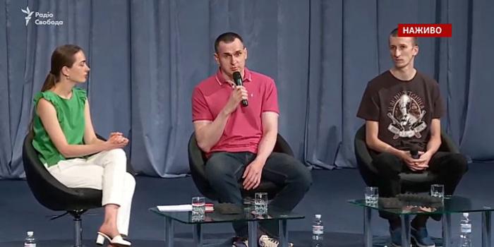 Фото – скриншот з відео Радіо Свобода