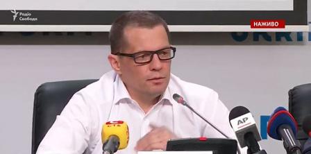 Фото - скриншот з відео Радіо Свобода