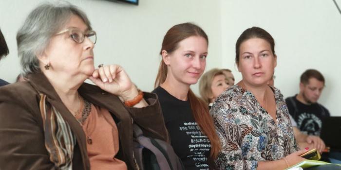 Фото - Людмила Савіцька, Радіо Свобода