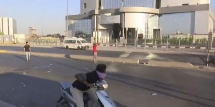 Фото – кадр із відео каналу Al Arabia / Новое время