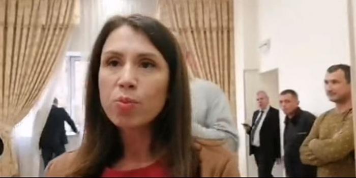 Фото – скриншот з відео Сергія Шевчука