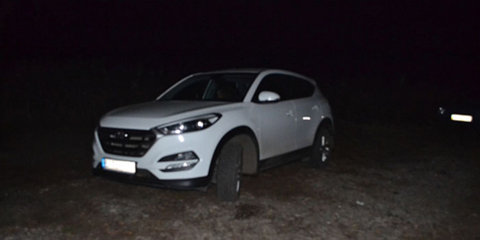 "На фото – авто, яке потрапило в кадр журналіста. Фото – ""Тексти. Олександрія"""