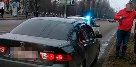Фото – патрульна поліція Кременчука