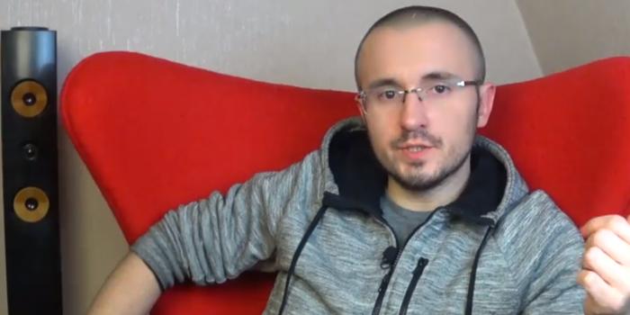 Фото – скриншот з відео Дениса Бігуса