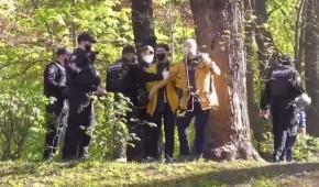 Фото – скриншот з відео Сергія Грішина