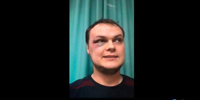 Фото – скриншот з відео Микити Книша