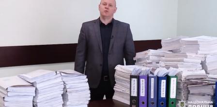 Фото – скриншот з відео Нацполіції