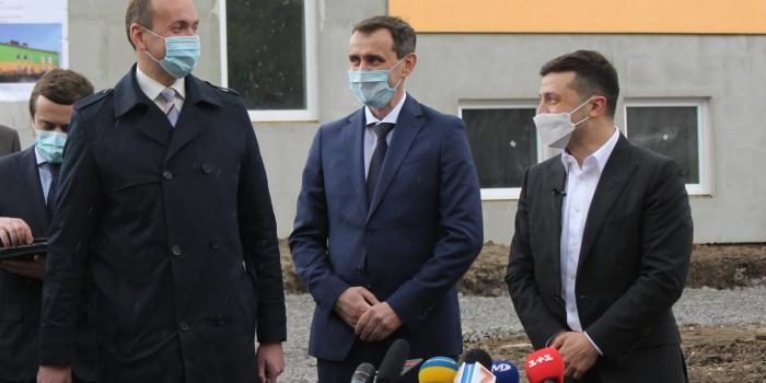 Володимир Зеленський під час візиту на Хмельниччину 3 червня, фото – adm-km.gov.ua
