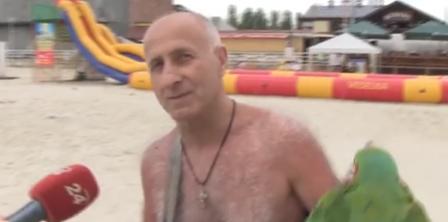 Фото – скриншот з відео 24 каналу