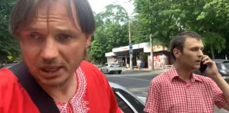 Фото – скриншот з відео Кіріла Стремоусова