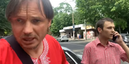 Фото – скриншот з відео Кирила Стремоусова