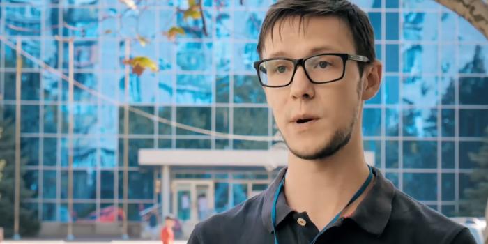 """Андрій Смірнов, фото – скриншот з відео """"Черноморськ NEWS"""""""
