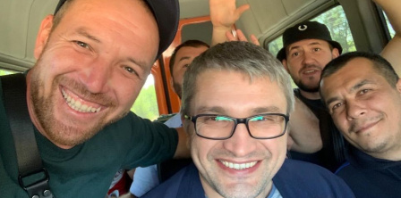 Photo credit: Crimean Solidarity (Memdeminov after release)