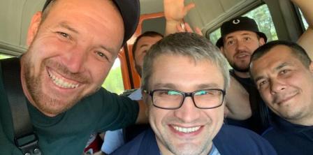 Наріман Мемедемінов після звільнення. Фото - Кримська солідарність