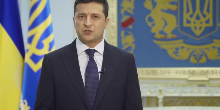 Фото – скриншот з відео Офісу Президента України