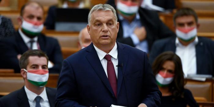 На фото – прем'єр-міністр Угорщини Віктор Орбан. Фото – rferl.org