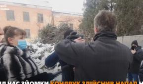 "Screenshot fromthe video of ""Vechirniy Kamyanets"""