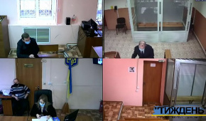 """Фото – скріншот з онлайн-трансляції газети """"Тиждень"""""""