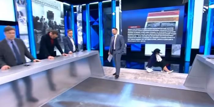 Фото – скріншот з відео Tелевізор