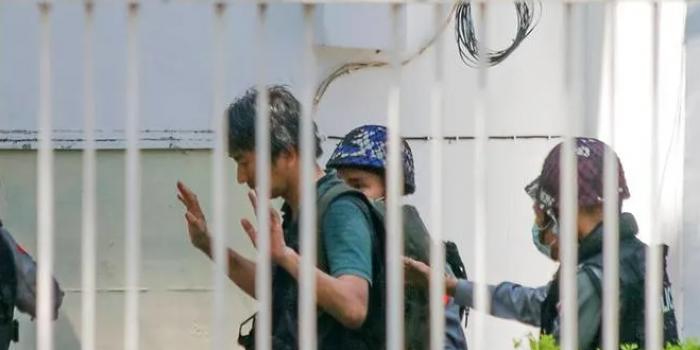 Юкі Кітазумі під час затримання 26 лютого 2021 року, фото – AP