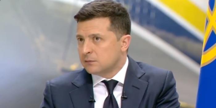 Фото – скріншот з відеотрансляції пресконференції Володимира Зеленського 20 травня