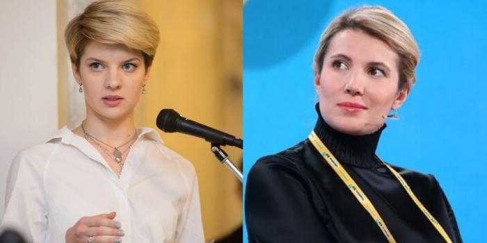 Поліна Лисенко і Любов Цибульська