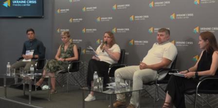 Фото – скріншот з відео Українського кризового центру