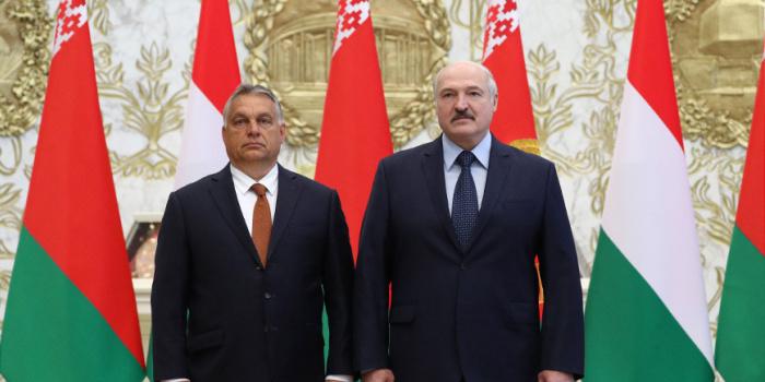 Віктор Орбан та Олександр Лукашенко. Фото: Белта