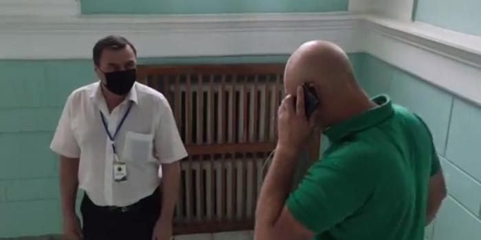 Фото – скріншот з відео Миколи Лисогора