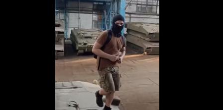 Фото – скріншот з відео СБУ