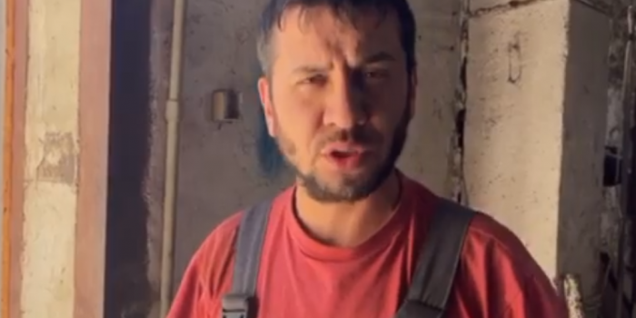 Screenshot from the video of Crimean Solidarity