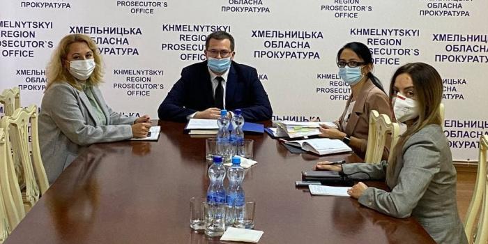 Фото - пресслужба Хмельницької обласної прокуратури