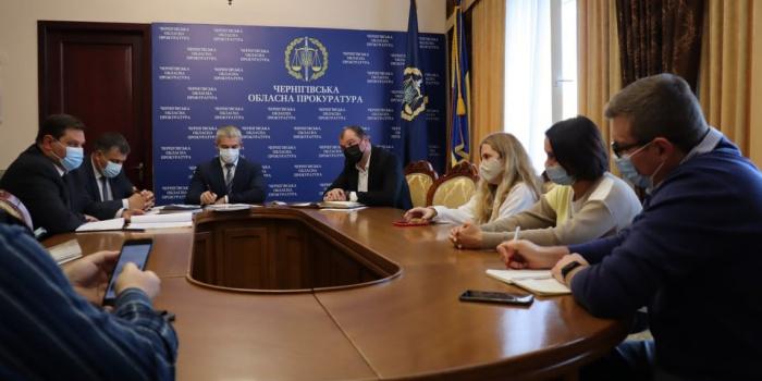Фото – пресслужба Чернігівської обласної прокуратури