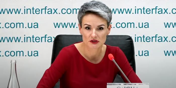 Фото – скріншот з відео Інтерфакс-Україна